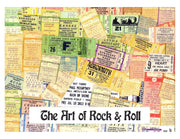 Art of Rock & Roll 1960s Poster Art Boxed Note Cards with Envelopes