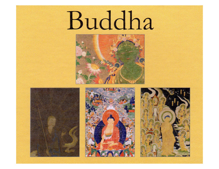 Buddha Spiritual Note Cards Boxed Set of 16 Blank Cards with Envelopes