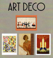 Art Deco Boxed Note Cards - Set of 16 Blank Note Cards with Envelopes