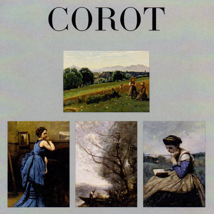 Camille Corot Landscapes, Women Note Card Set of 16 with Envelopes