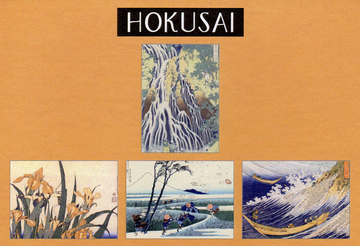 Hokusai Japan Woodblock Prints Note Cards Boxed Set 16 with Envelopes
