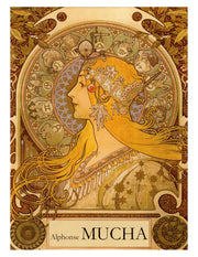 Alphonse Mucha Art Nouveau Posters Note Cards Boxed Set with Envelopes