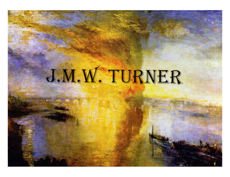 J. M. W. Turner Watercolor Seascapes Note Cards Boxed Set of 16