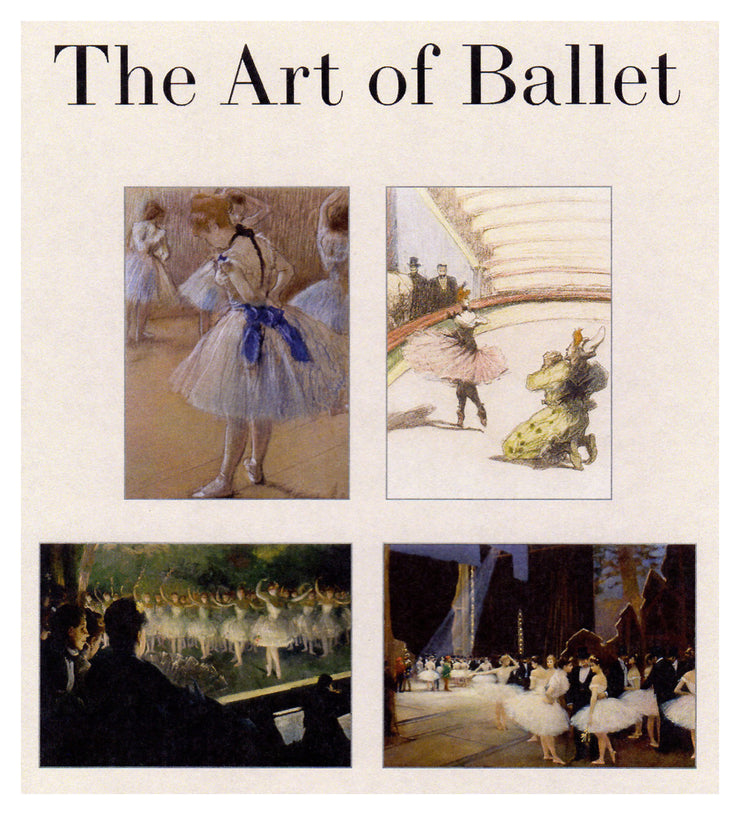 Art of Ballet Degas Ballerinas Note Cards Boxed Set 16 with Envelopes