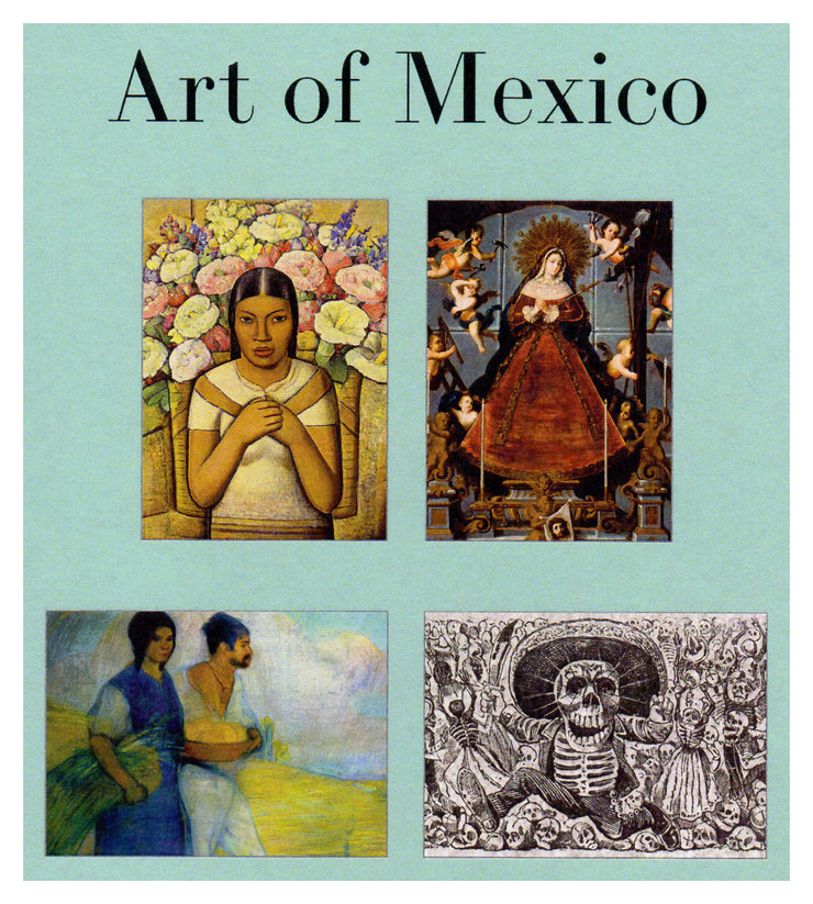 Art of Mexico Note Cards - Boxed Set 16 Mexican Art Culture Cards