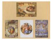 Michelangelo Fresco Blank Note Card Set of 16 Cards with Envelopes