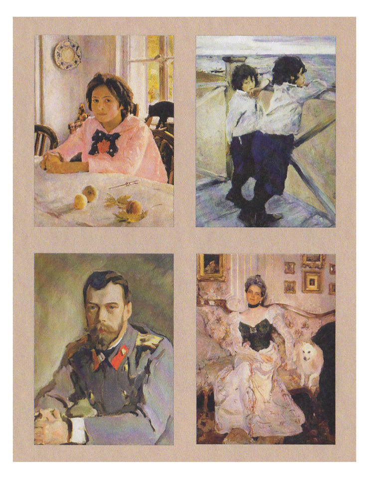 Valentin Serov Impressionism Note Cards - Boxed Set 16 with Envelopes