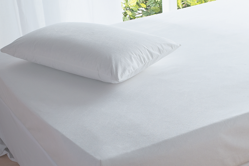 Classic Cotton Pillow Protector Pair