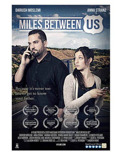 miles between us movie poster
