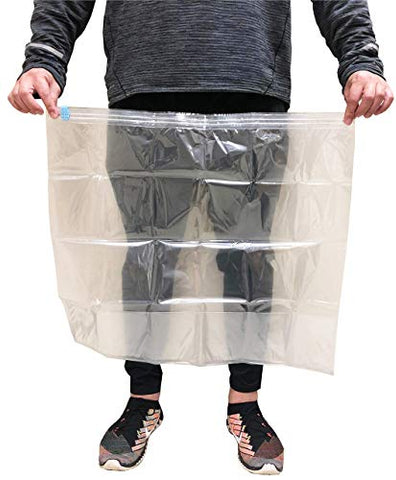 New and Improved Liquid Solution Turkey Brining Bags - No BPA - Heavier Duty Materials - Thicker Seams - Gusseted Bottom - Double Track Zippers - Extra Large - Set of 2, 21.5 x 25.5 in Each.