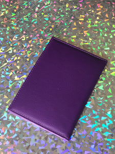 Fashion Passport Holder- Purple