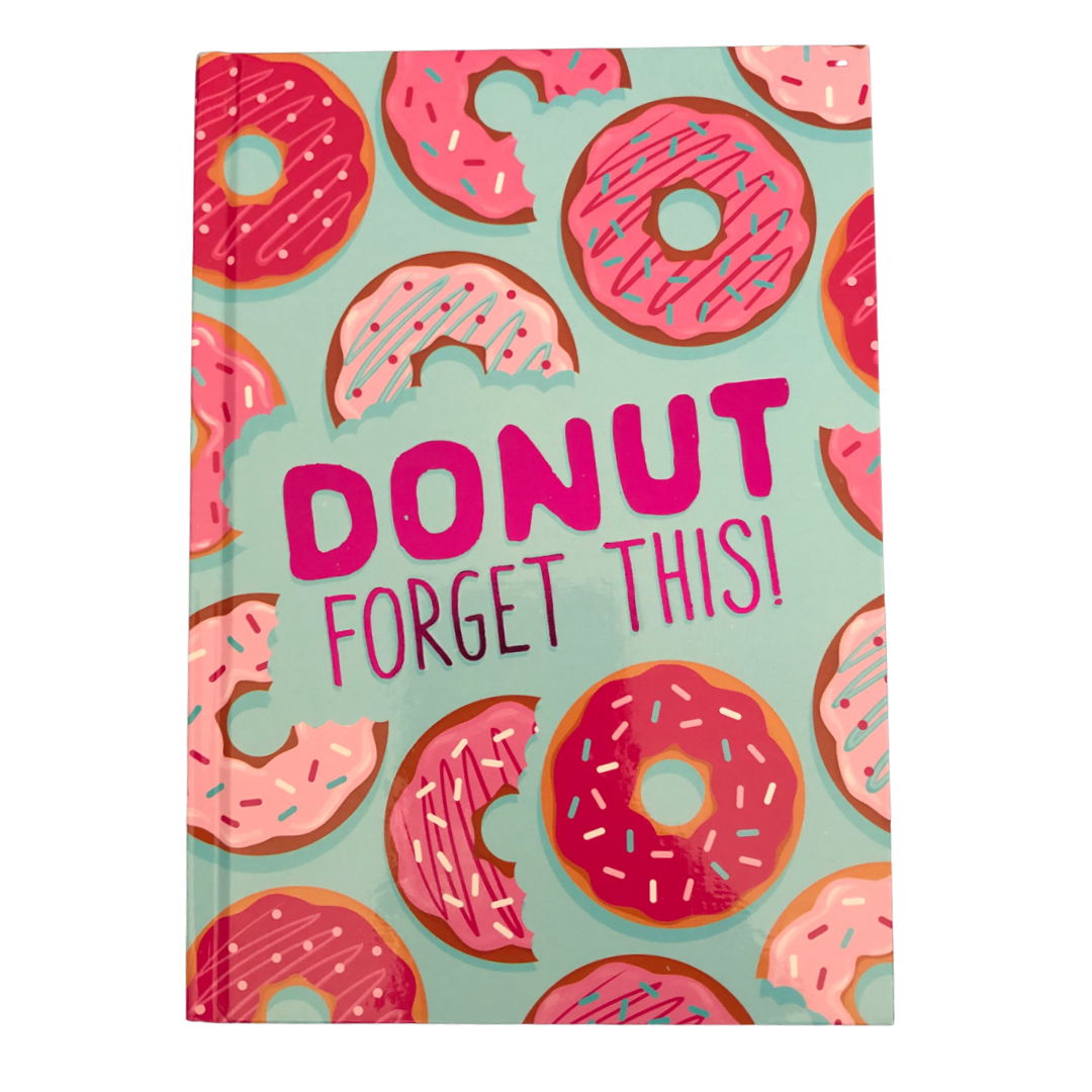 """Donut Forget This"" Trendy Notebook"