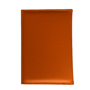 Fashion Passport Holder- Orange