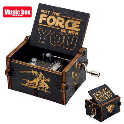 Limited Edition GRFD Engraved Music Box B250703