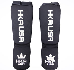 HKA USA Pull Up Shin Guards