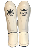 HKA USA Shin Guards - WHITE