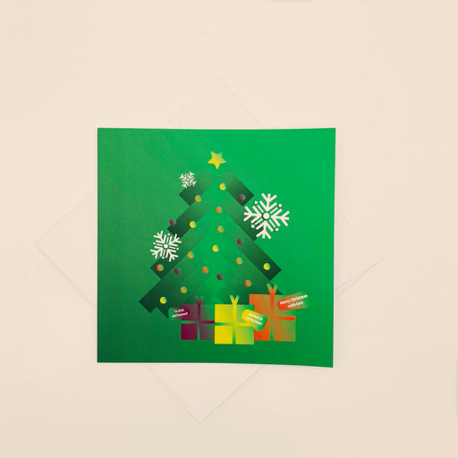 🎁 Merry Christmas with love - Pack of 4 cards