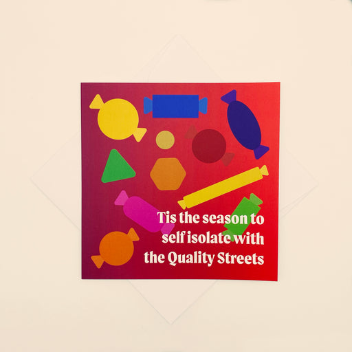 🍫 Quality Streets - Pack of 4 cards