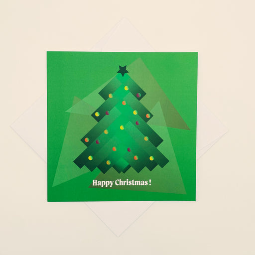 🎄 Happy Christmas - Pack of 4 cards