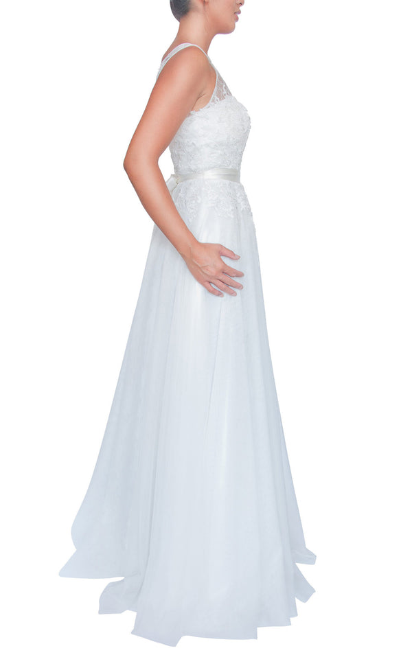 Bella Gown- White