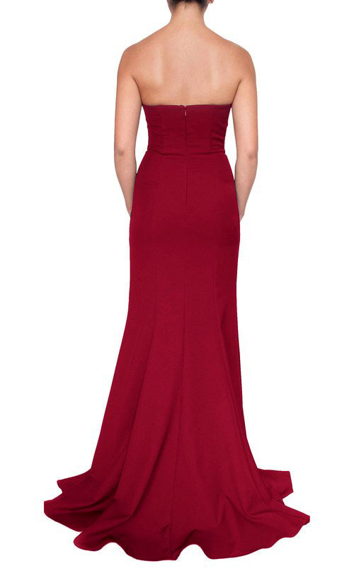 Bellini Gown - Wine