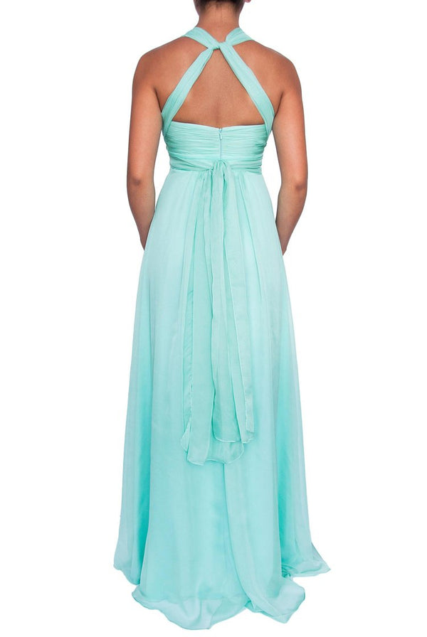Chiffon Multiway Gown - Mint