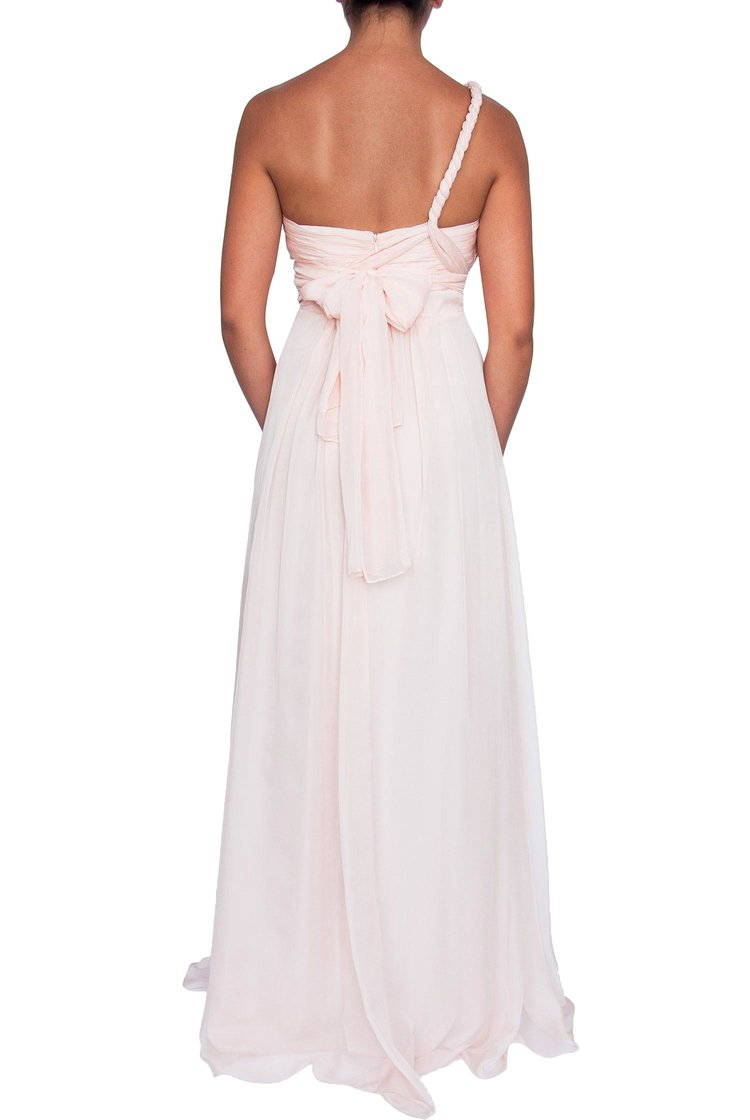 Chiffon Multiway Gown - Soft Pink