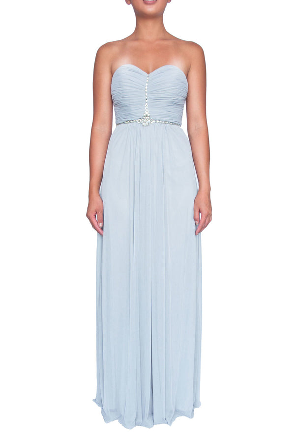 Coco Mademoiselle Gown - Light grey