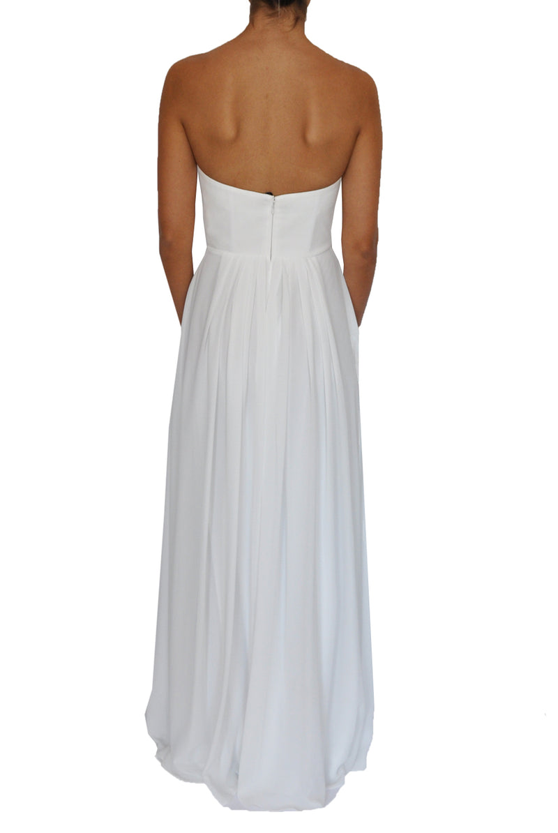 Jane gown- White