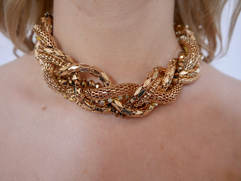Nerine - Gold Necklace
