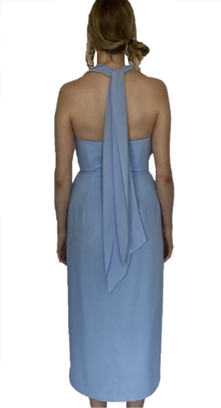 Sienna Dress - Sky Blue