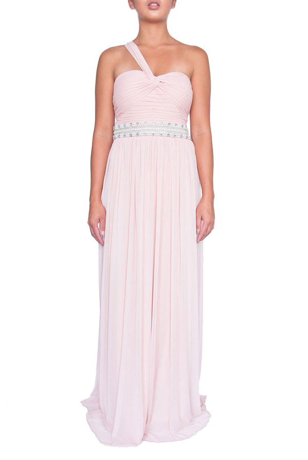 New York Gown - Baby Pink