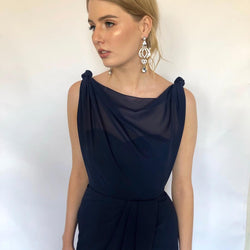 Sienna Dress - Navy