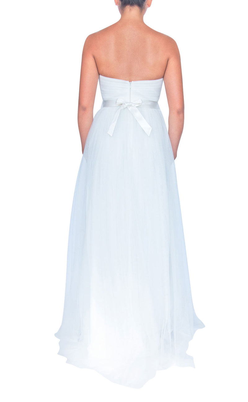 Tulle Multiway Dress - White