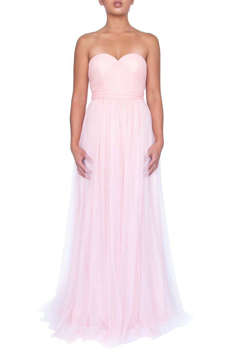 Tulle Multiway Dress - Soft Pink