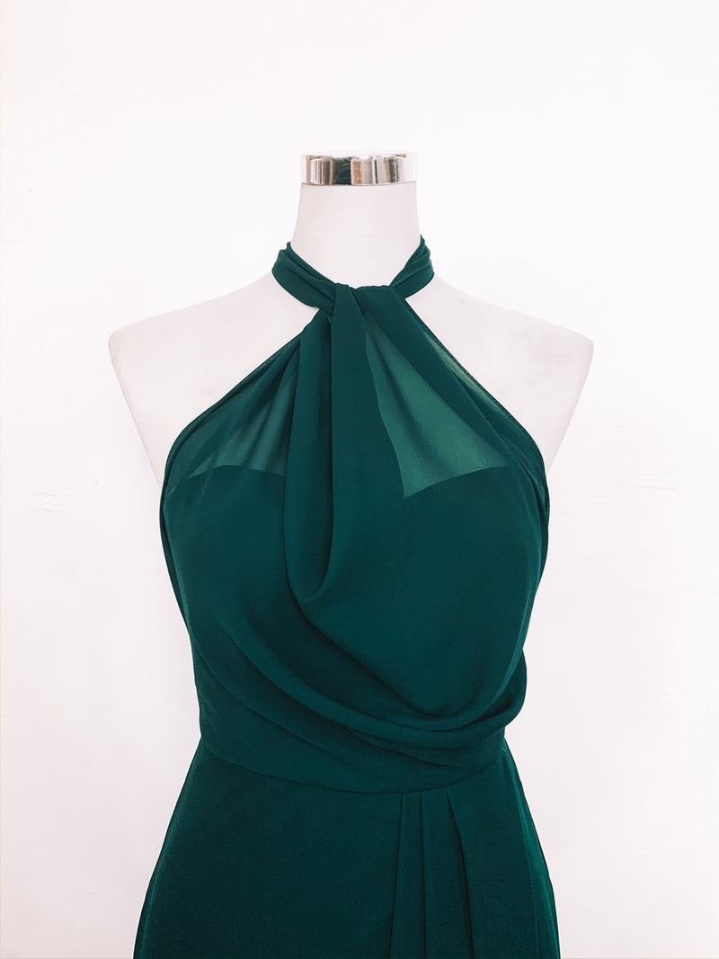 Sienna Dress - Emerald