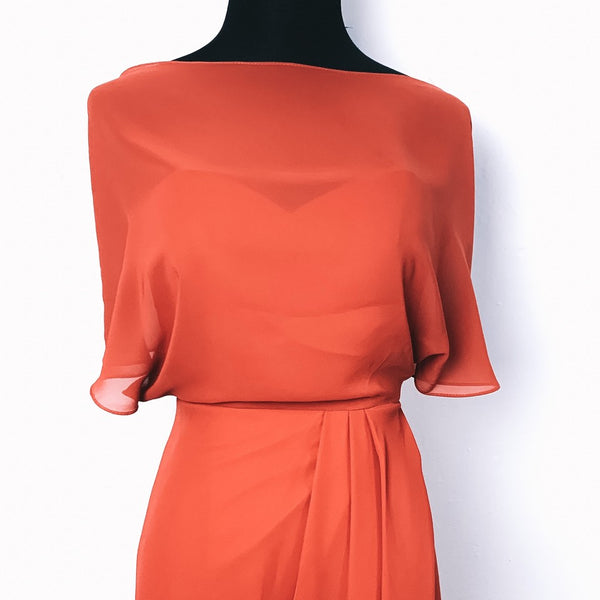 Sienna Dress - Rust