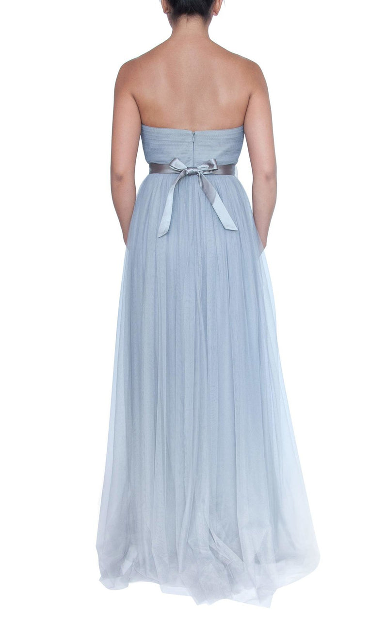 Tulle Multiway Dress - Light Grey