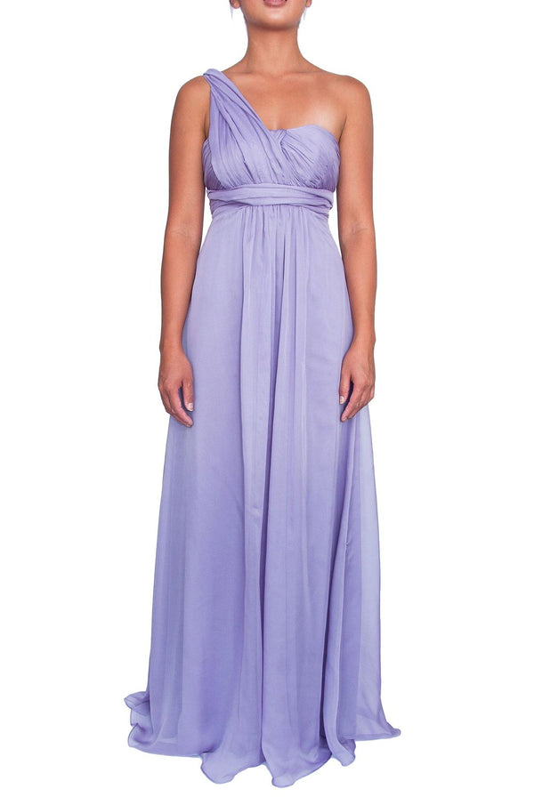 Chiffon Multiway Gown - Lilac