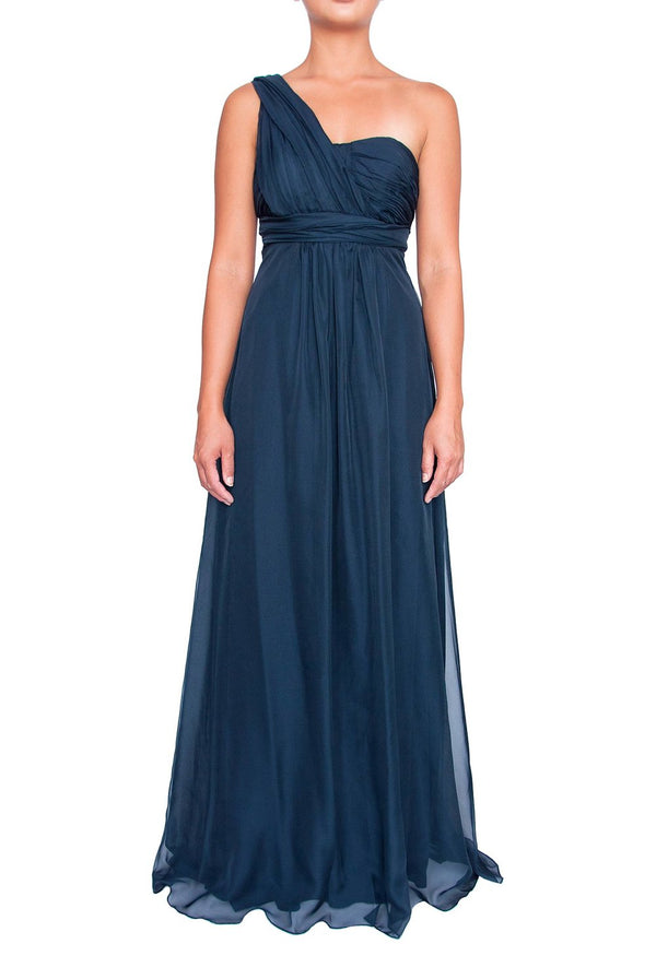Chiffon Multiway Gown - Midnight
