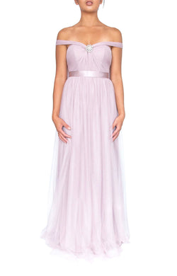 Tulle Multiway Dress - Oyster
