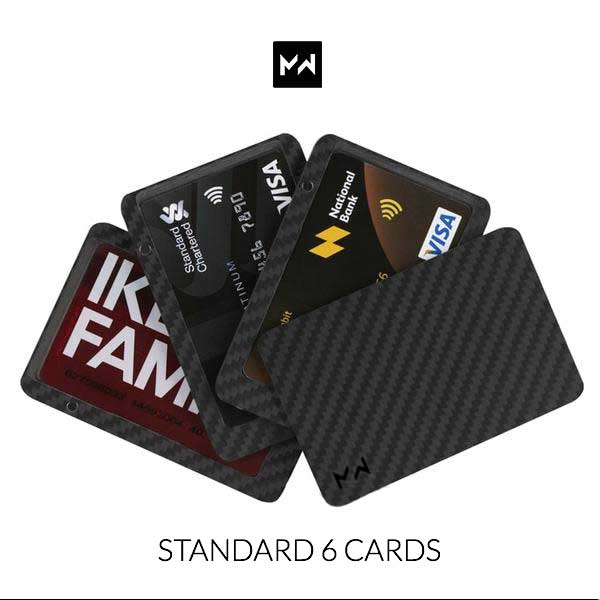 M.W. Magnetic Wallet Carbon Fiber