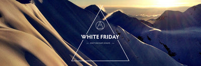 White Friday - Don't Discount. Donate.