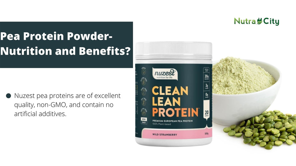 Pea Protein Powder-  Nutrition and Benefits?