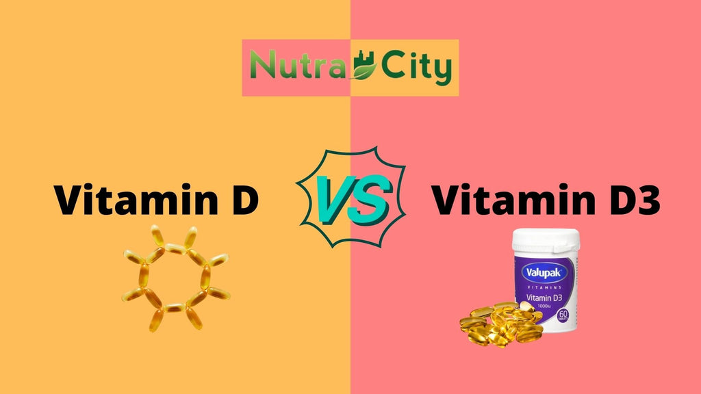 Vitamin D vs. D3: Differences, Similarities, & Which is Better