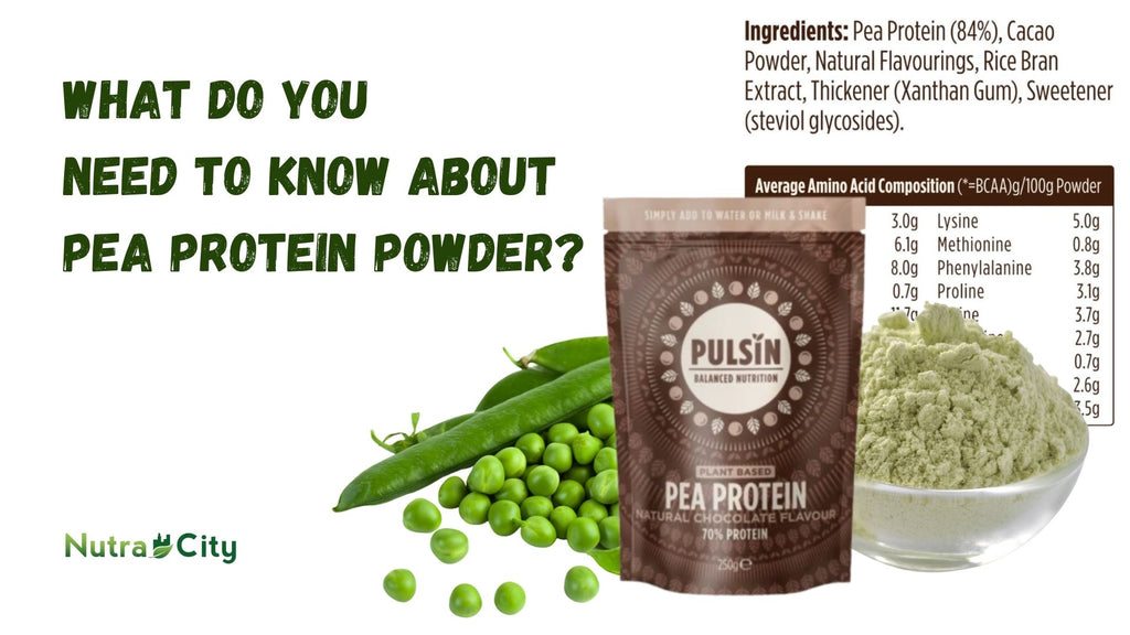 What Do You  Need to Know About  Pea Protein Powder?