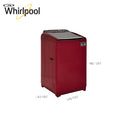 WHIRLPOOL 7.5 KG FULLY AUTOMATIC WASHING MACHINE SW ULTRA 7.5 (SC) WINE 10YMW