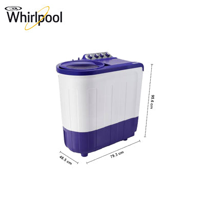 WHIRLPOOL 7.5 KG SEMI AUTOMATIC WASHING MACHINE ACE 7.5 SUP SOAK (CORAL PURPLE) (5 YR)