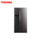 TOSHIBA 584 LTR SIDE BY SIDE REFRIGERATOR GR-RS530WE-PMI