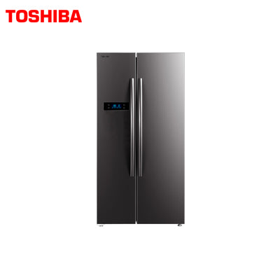 TOSHIBA 584 LTR DOUBLE DOOR REFRIGERATOR GR-RS530WE-PMI